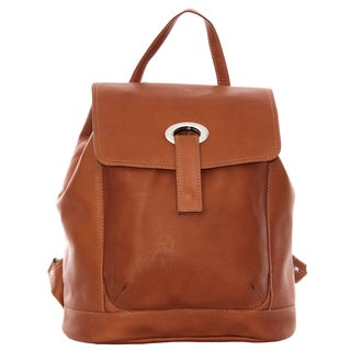 Piel Leather Large Oval Loop Backpack