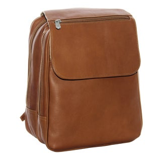Piel Leather Flap-Over Tablet Backpack
