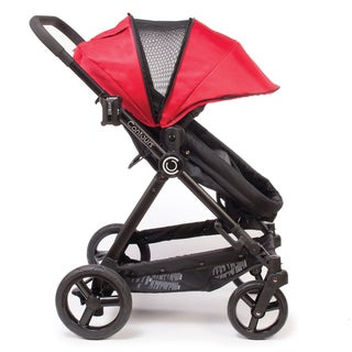 Contours Bliss 4-in-1 Convertible Stroller in Crimson