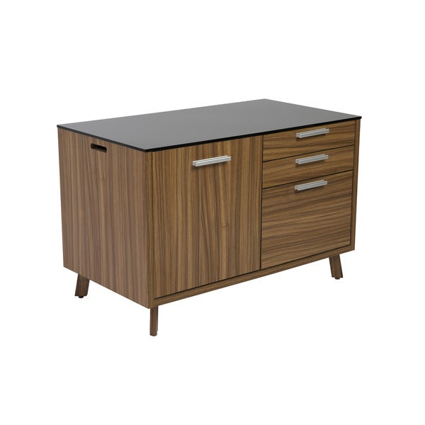 Hart Sideboard - Black/Walnut