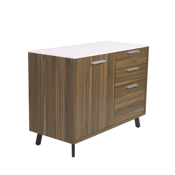 Hart Sideboard - White/Walnut