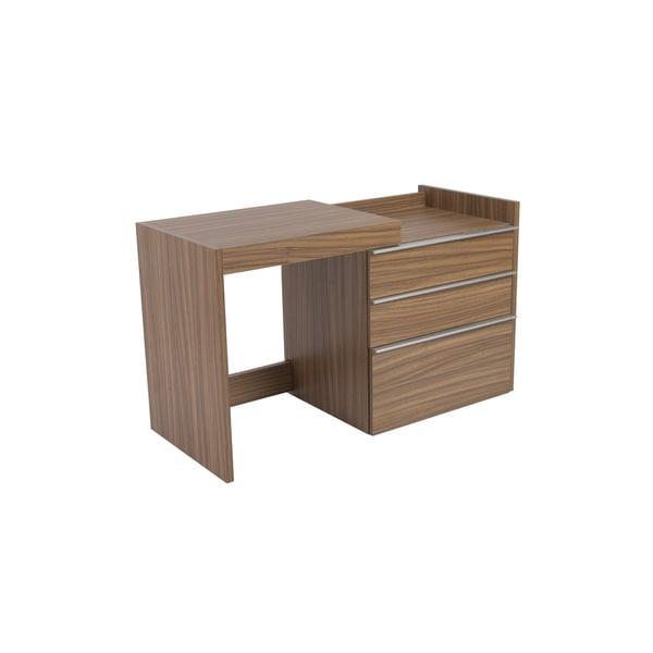 Dew Convertible Desk - Walnut