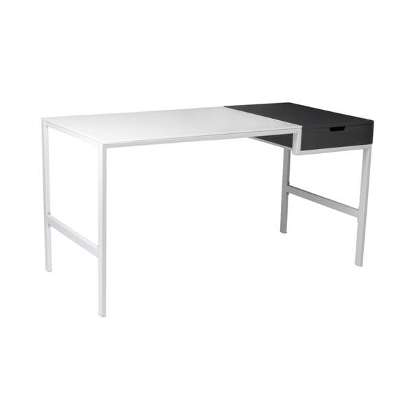 Diva Desk - White/Gray