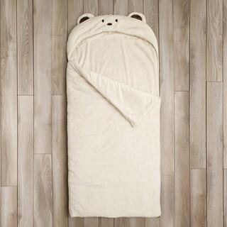 Aurora Home Bear Plush Faux Fur Sleeping Bag