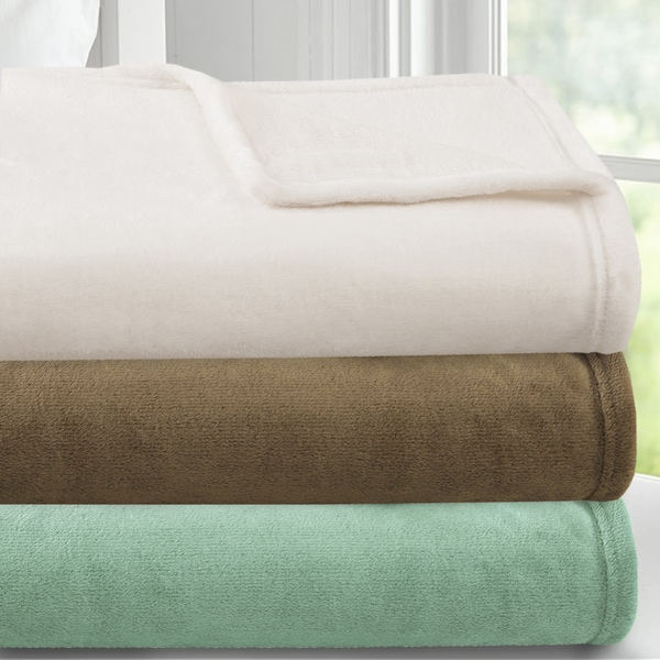 Luxury Double Brushed Ultra Plush Flannel Blanket