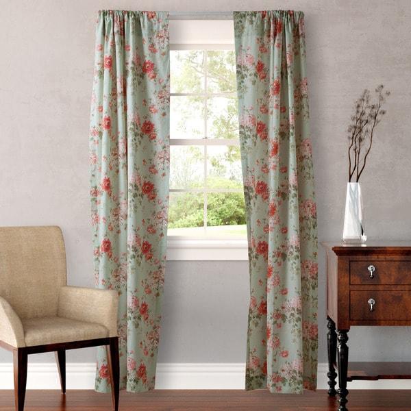 Laura Ashley Vivienne Curtain Panel 4-Piece Set