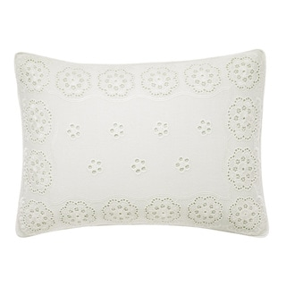 Laura Ashley Vivienne Embroidered Breakfast Pillow