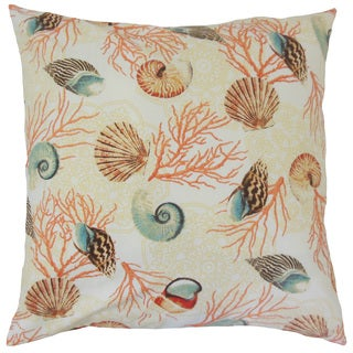 Ofek Coastal Down and Feather Filled 18-inch Throw Pillow