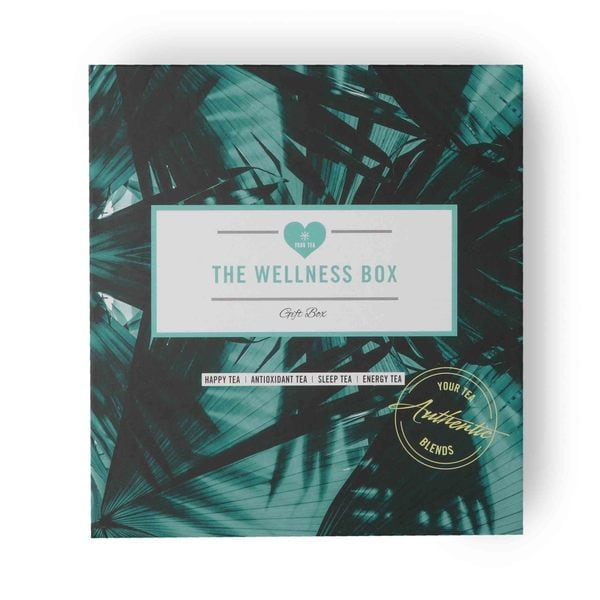 Wellness Gift Box Your Tea Organic Blend - Happy, Sleep Antioxidant, Energy