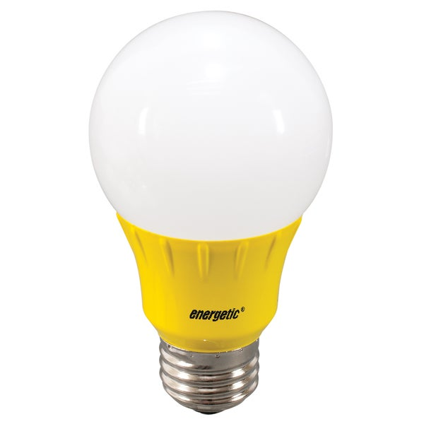 4W YELLOW LED A19