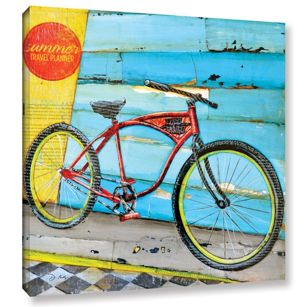 ArtWall Danny Phillips's Cruise Control, Gallery Wrapped Canvas