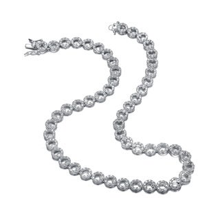 Collette Z Sterling Silver Loops Chain Classic Necklace