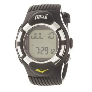 Everlast HR1 Finger Touch Heart Rate Monitor Black Bezel Sport Digital Watch