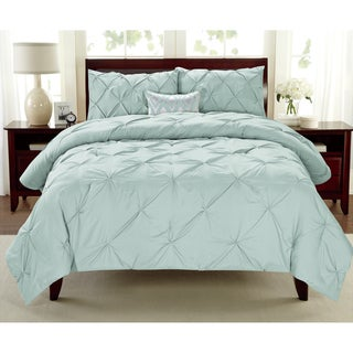Premium Collection Pintuck 3-piece Comforter Set