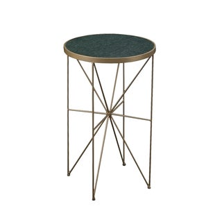 Christopher Knight Home Marble and Iron Round Accent Table