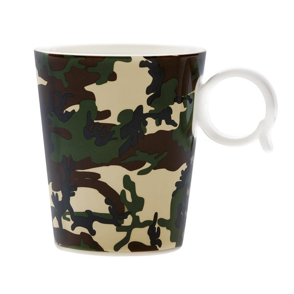 Red Vanilla Freshness Camo USA Mug 12 oz (Set of 4)