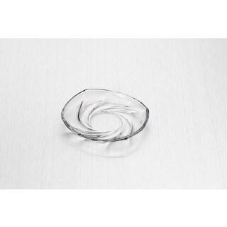 """Swirl Oval Side Plate - 7.25"""" (Set of 6)"""
