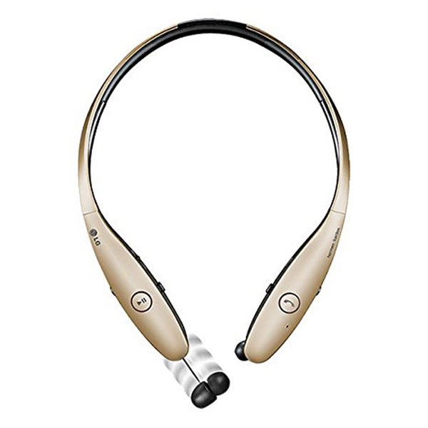 LG TONE INFINIM Bluetooth Stereo Headset - Retail Packaging - Gold