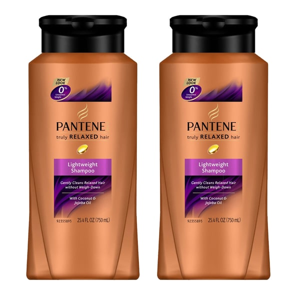 Pantene Pro-V Truly Relaxed Hair Lightweight 25.4-ounce Shampoo (Pack of 2)
