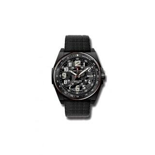 Swiss Military by R 50505 37N N Commando Men's Watch Black Camo Dial