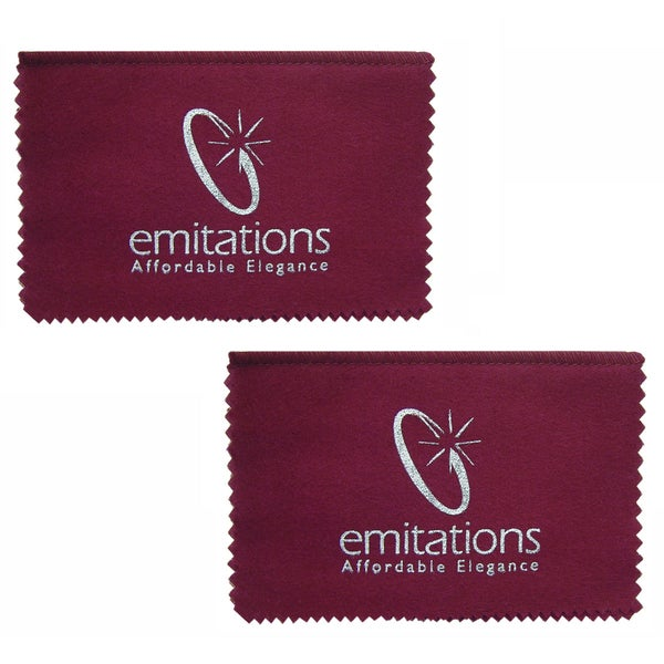 2 Jewelry Polishing Cloths