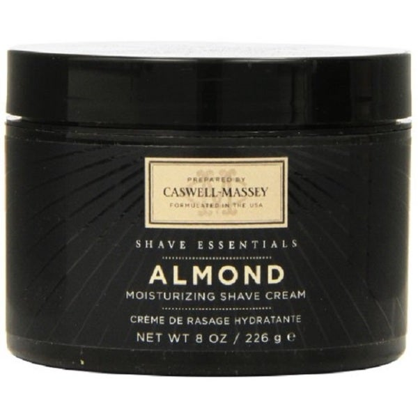 Caswell-Massey Almond 8-ounce Shave Cream Jar