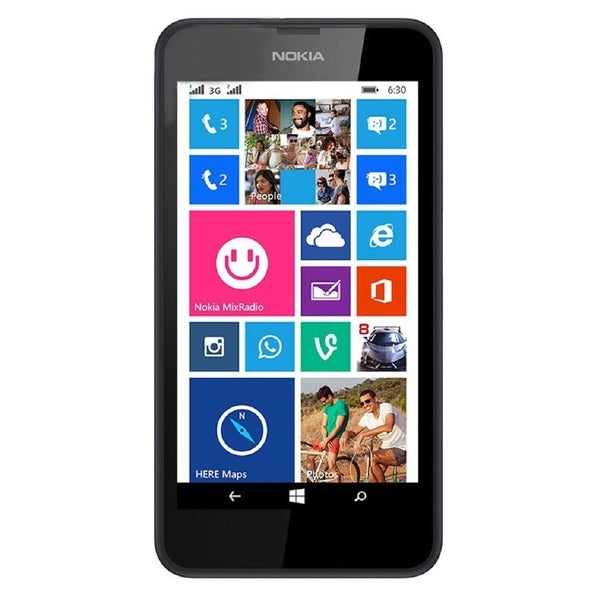 Nokia Lumia 635 RM-975 Unlocked GSM LTE Windows 8.1 Quad-Core Cell Phone - Black (Refurbished)
