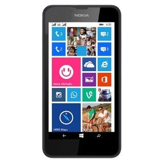 Nokia Lumia 635 RM-975 Unlocked GSM LTE Windows 8.1 Quad-Core Cell Phone - Black (Refurbished)