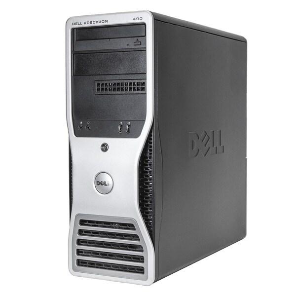 Dell Precision 490 MT 3.0GHz Intel Dual Core Xeon CPU 4GB RAM 250B HDD Windows 7 Desktop (Refurbished)