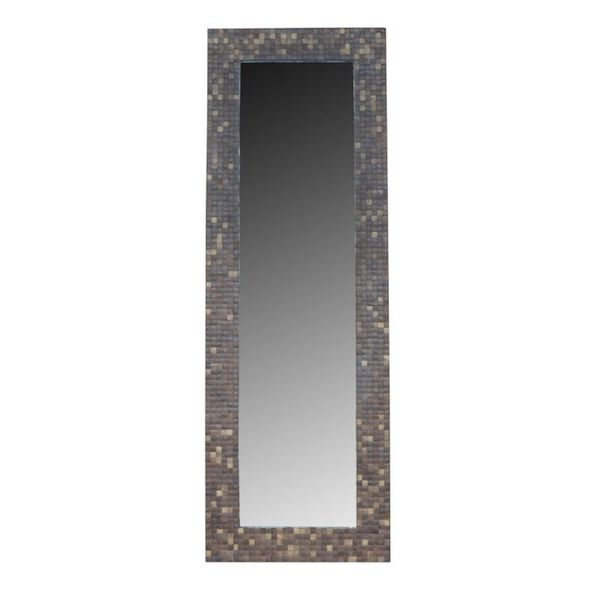 Williams Grey Cocomosaic Floor Mirror