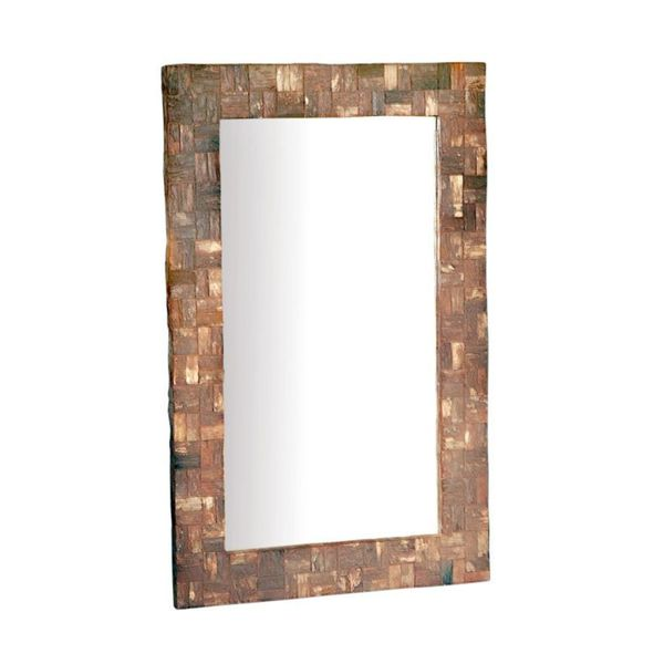 Cooley Rustic Bark Mirror