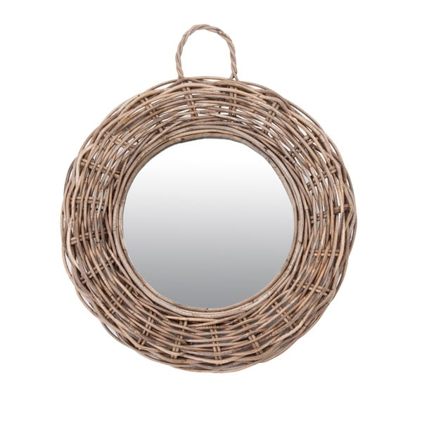 James Rattan Round Mirror-Large