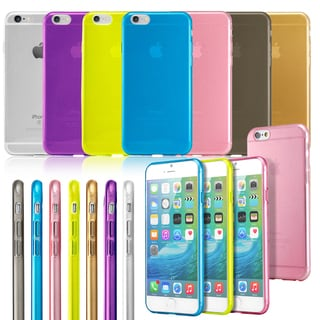 Gearonic Thin Clear TPU Transparent Skin Case Cover for iPhone 6 6S