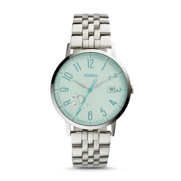 Fossil Women's ES3956 Vintage Muse Multi-Function Silver Dial Stainless Steel Bracelet Watch
