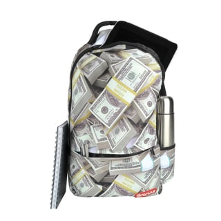 Ful Granule Dollar Bills Sublimination Backpack