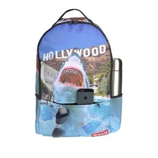 Ful Granule Hollywood Shark Sublimination Backpack