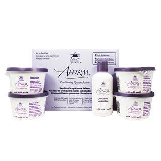 Avlon Affirm Sensitive Scalp Conditioning Relaxer (4 Single Applications)