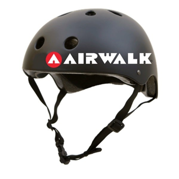 AIRWALK SKATEBOARD HELMET - BLACK - SMALL