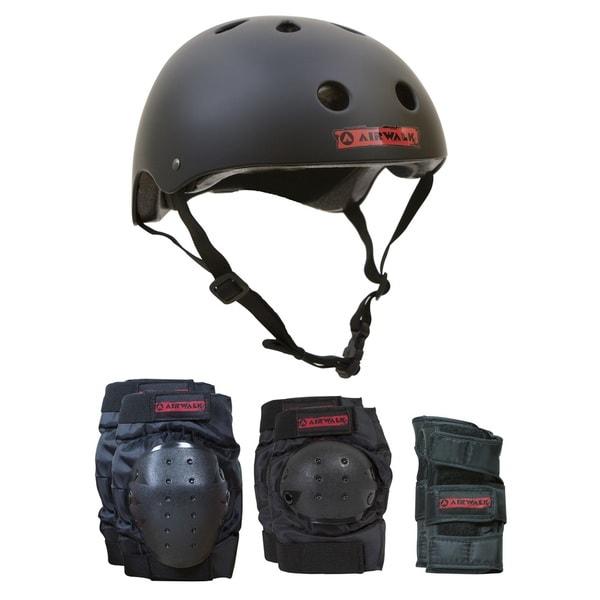 Airwalk 4-in-1 Helmet/Pad Combo - X/Small