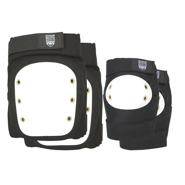 Shaun White Black Protective Pad Set - Large / X-Large