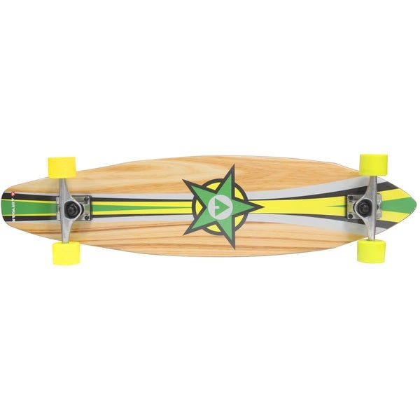 Airwalk36-inch Longboard - Wood Grain