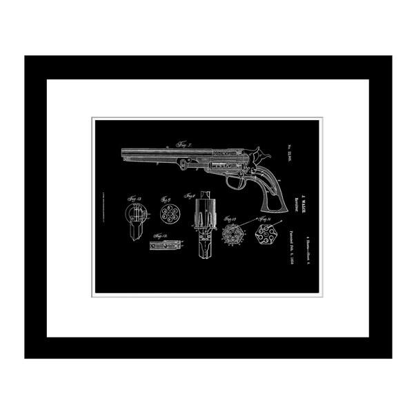 Prestige Art Studios 1859 Revolver Framed Print