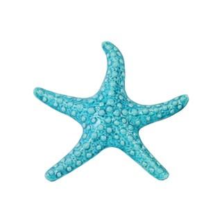 Ceramic Sea Star Figurine Gloss Finish White