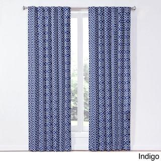 Waverly Lovely Lattice Curtain Panel