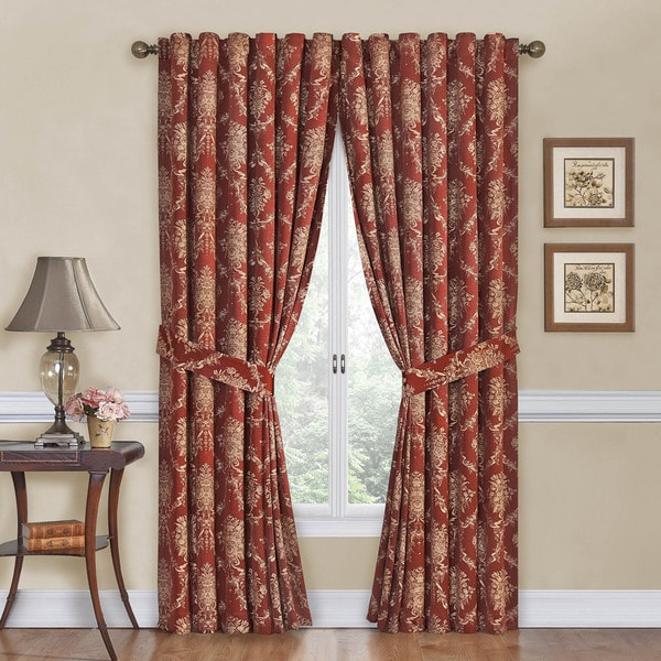 Rose Momento Floral Curtain Panel