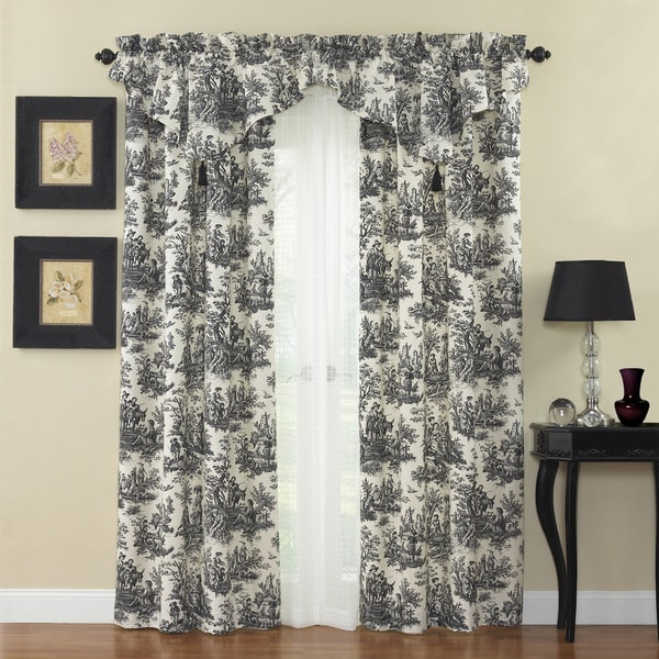 Country Life Curtain Panel