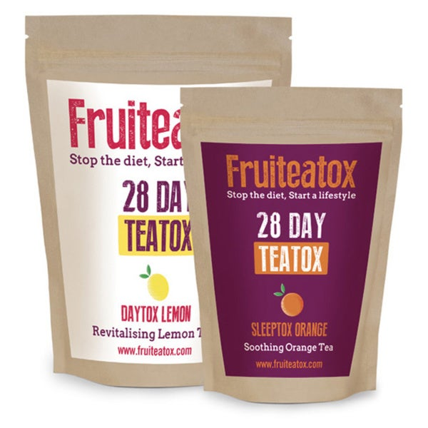 Skinny Fruiteatox 28-day Weight-Loss Teatox Cleanse