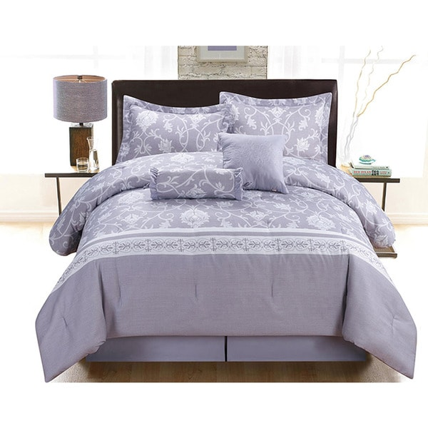 Lara 6-Piece Queen Size Comforter Set
