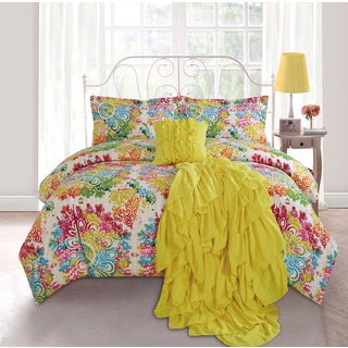 Abstract 5-Piece Comforter Set