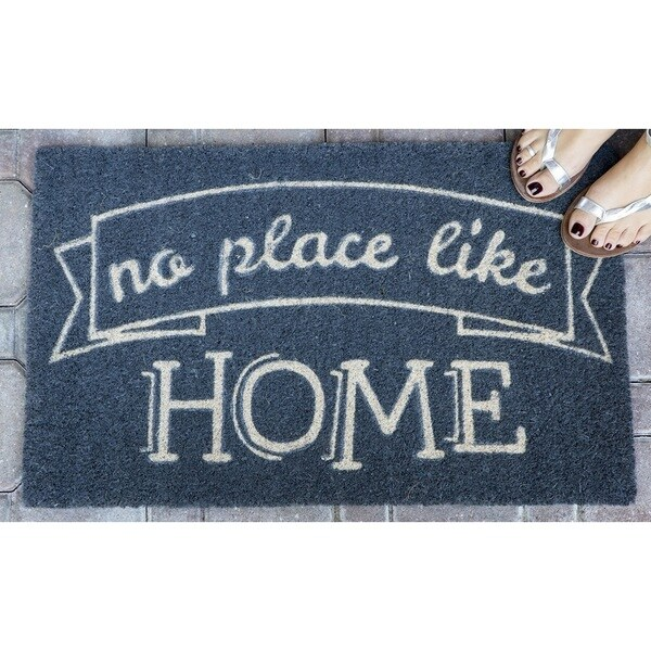 Like Home Non Slip Coir Doormat